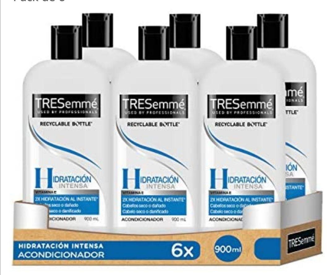 TRESemmé Hidratación Intensa Acondicionador 900ml - Pack de 6 (compra recurrente)