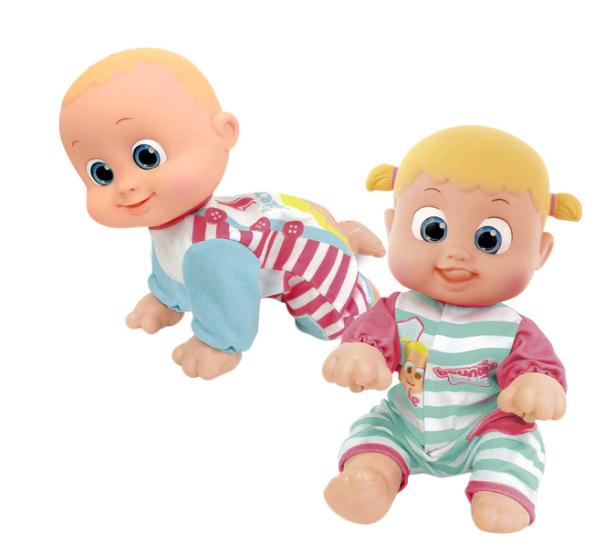 Muñeco Ven con mamá Bouncing Babies Cife