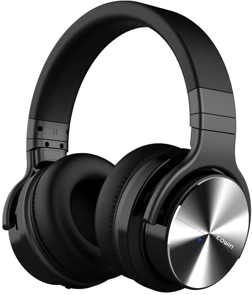 Cowin E7 Pro Auriculares inalámbricos Bluetooth con micrófono Hi-Fi de Graves Profundos