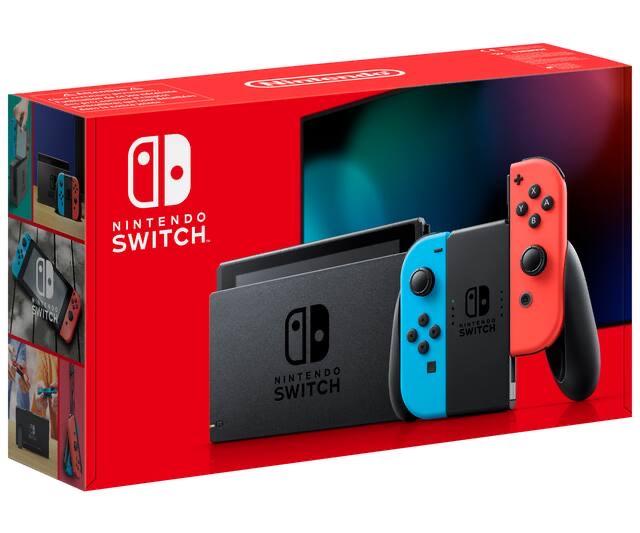 Nintendo Switch 2019 azul y rojo (Alcampo Sanlucar)