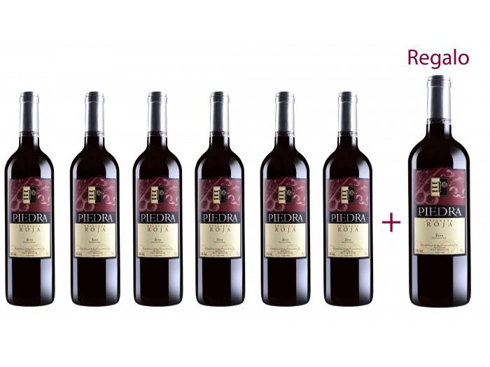 8x botellas Piedra Roja 2006 = 27.99€