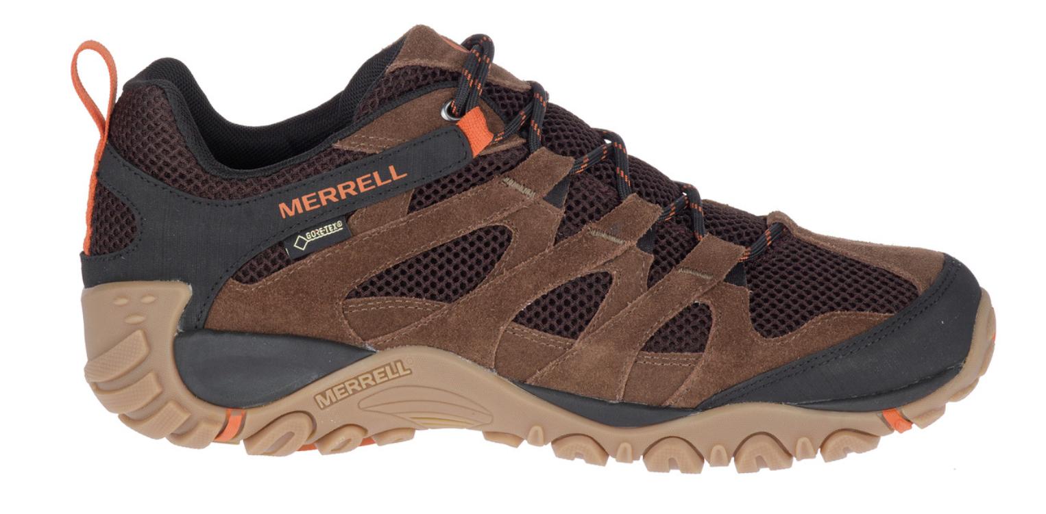 TALLAS 41.5, 43.5 - Merrell Alverstone GORE-TEX®, Zapatillas de Trekking para Hombre