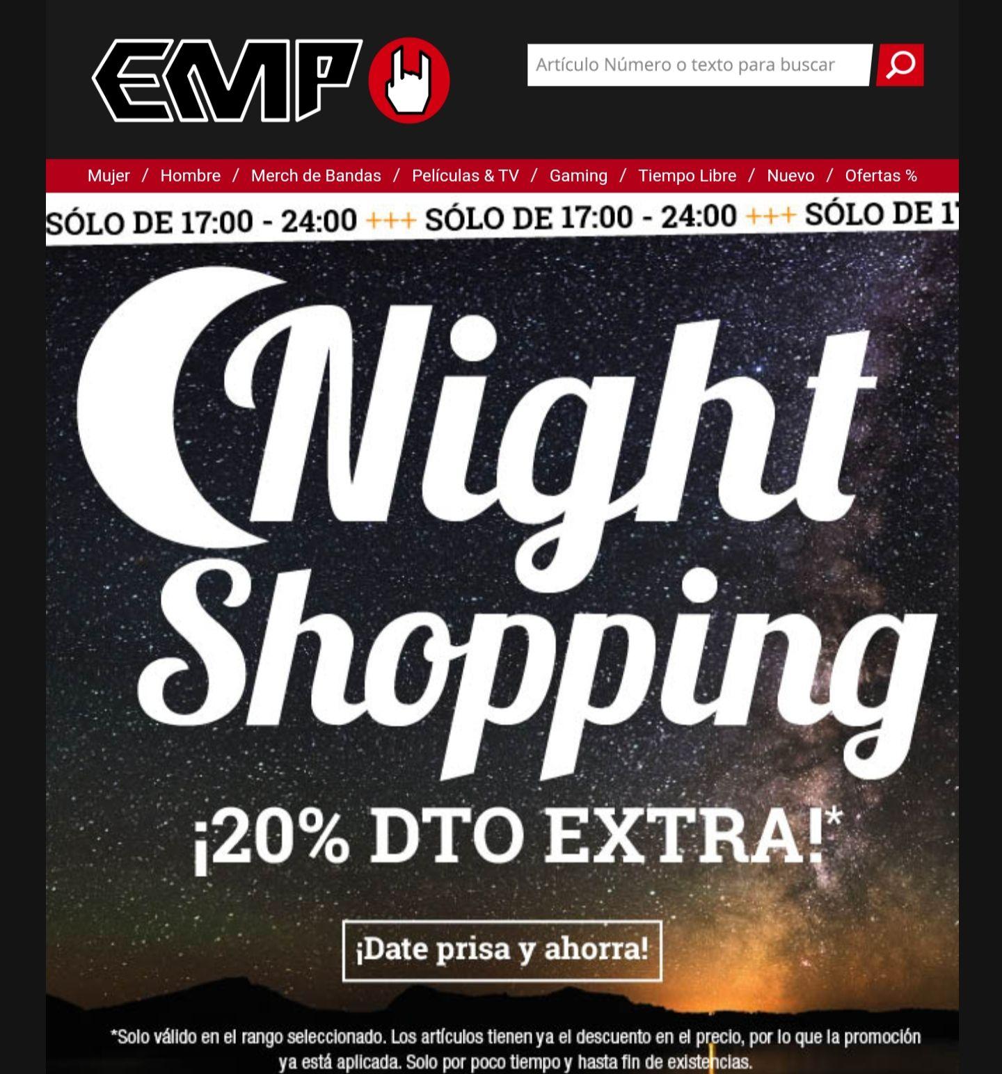 20% descuento extra en EMP