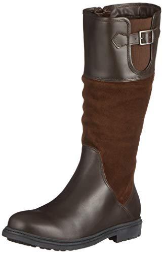 Botas de piel para montar a caballo (Talla 36)
