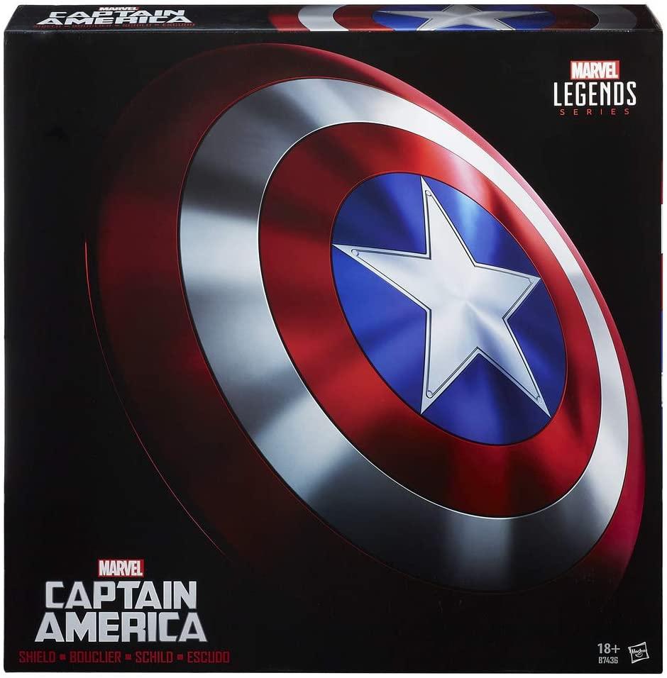 HASBRO Avengers Marvel Legends - Escudo Capitan America (REACOs Como NUEVO)