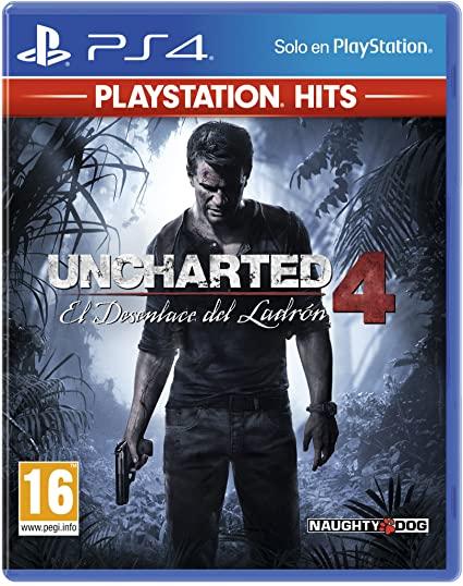 """Uncharted 4 - El Desenlace Del Ladrón """"Hits Edition"""""""