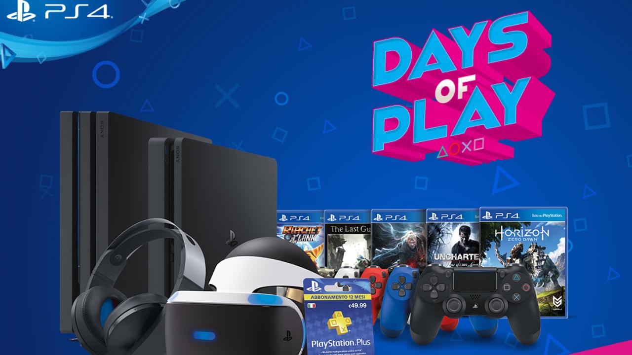 Days of Play (Juegos, Bundles, Accesorios) [PS4]