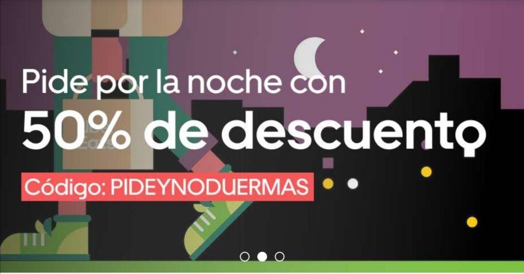 ILIMITADO -50% en Uber Eats Valencia