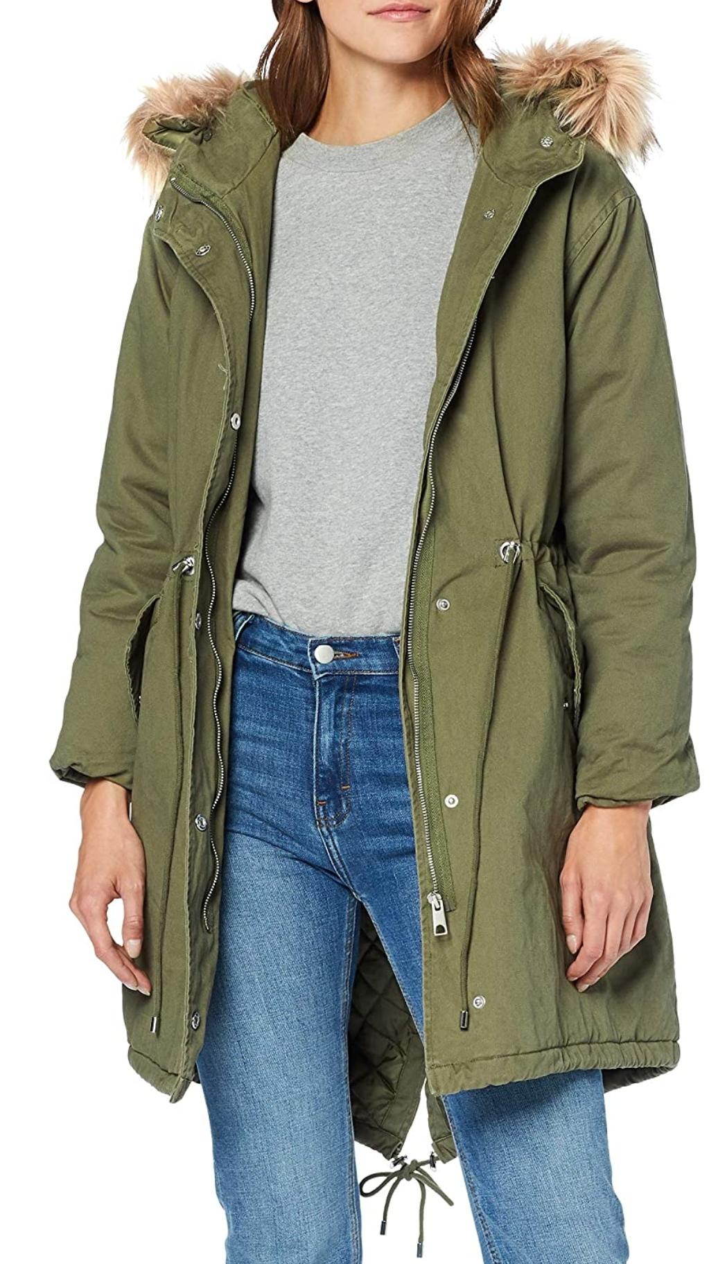 Parka chaqueta de mujer New Look
