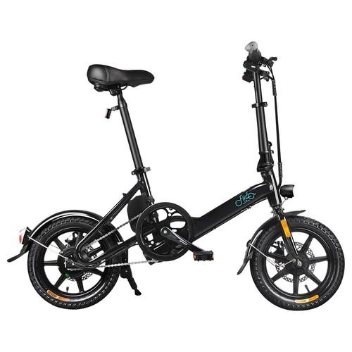 FIIDO D3 Bicicleta de ciclomotor eléctrica plegable