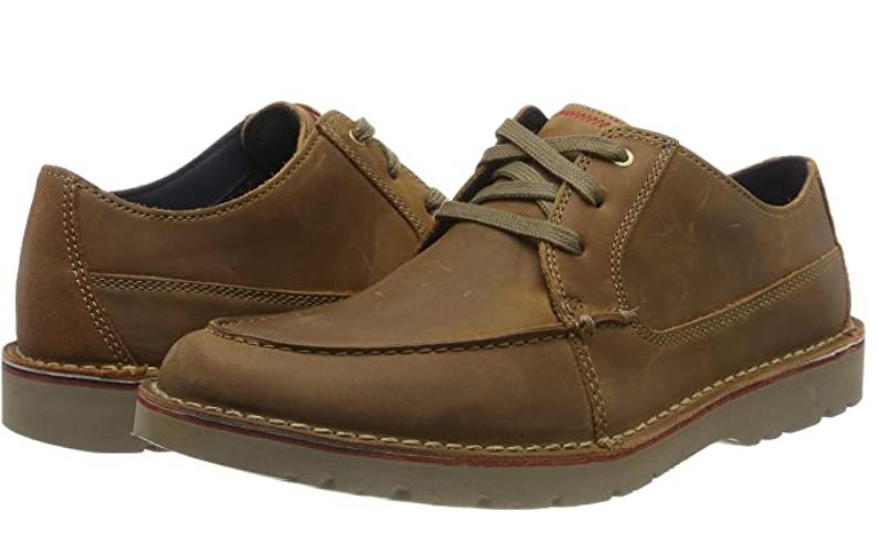 TALLA 39.5 - Clarks Vargo Vibe, Zapatos de Cordones Derby para Hombre