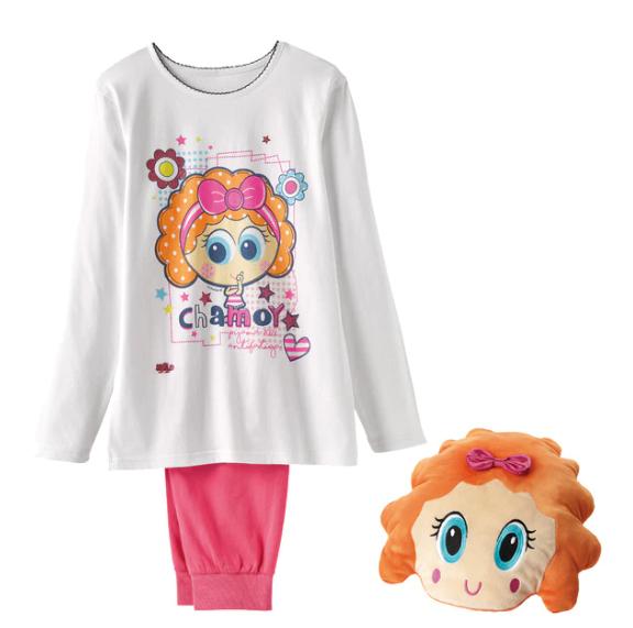 Cojin con Pijama Chamoy