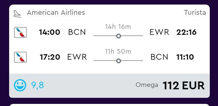 VUELOS BARATOS a NUEVA YORK!! desde Barcelona o Madrid a partir de solo 56€ el trayecto!