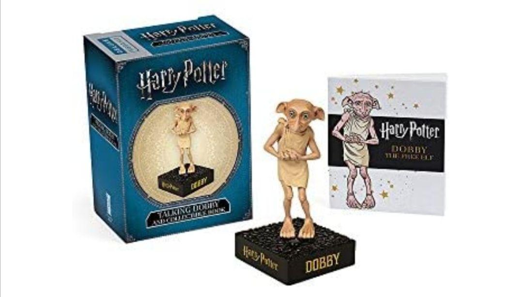 Pack Harry Potter: Talking Dobby + Book