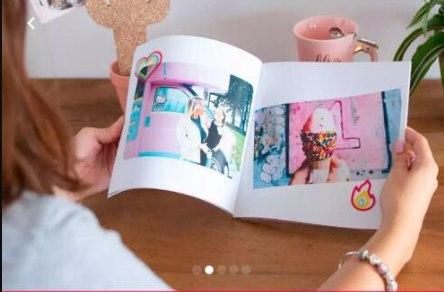 Libro 20 paginas o 50 fotos x 6.99€