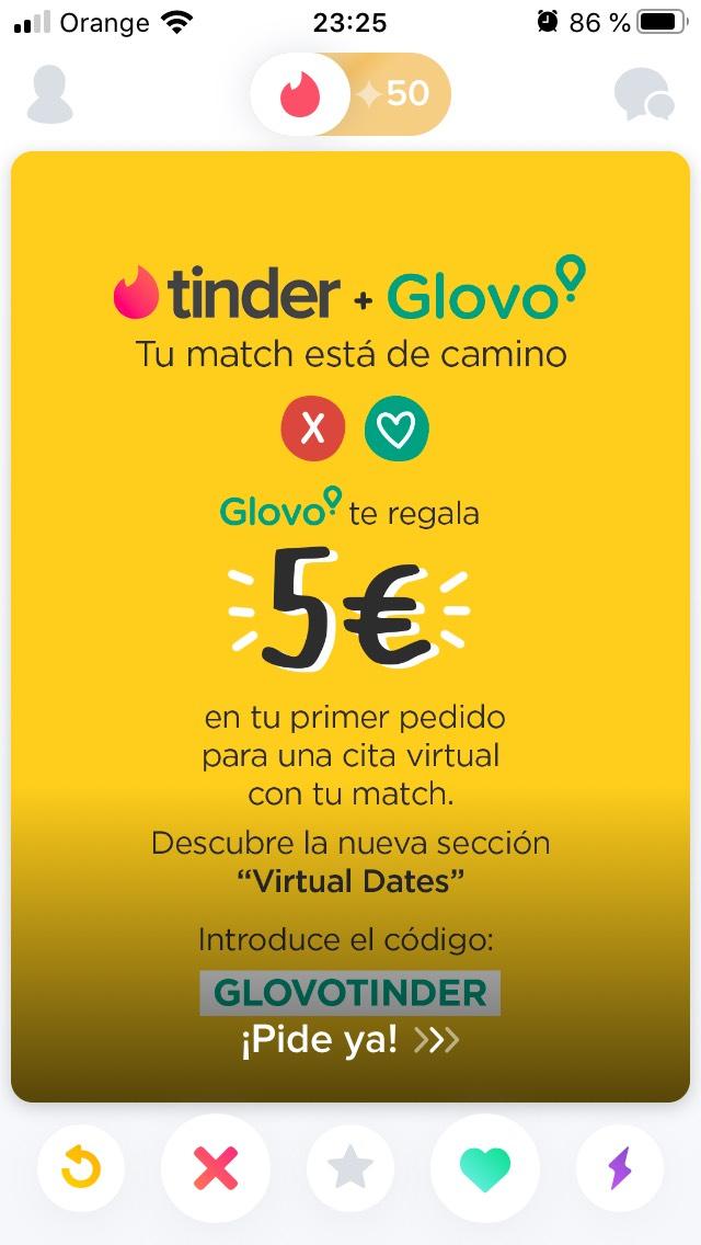 5€ de descuento primer pedido