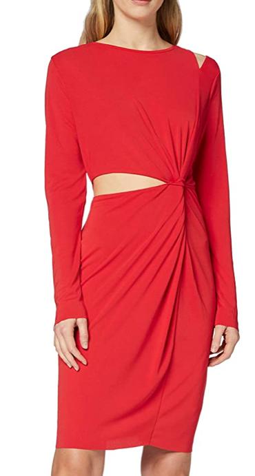Vestido de Noche para Mujer, rojo, talla 38