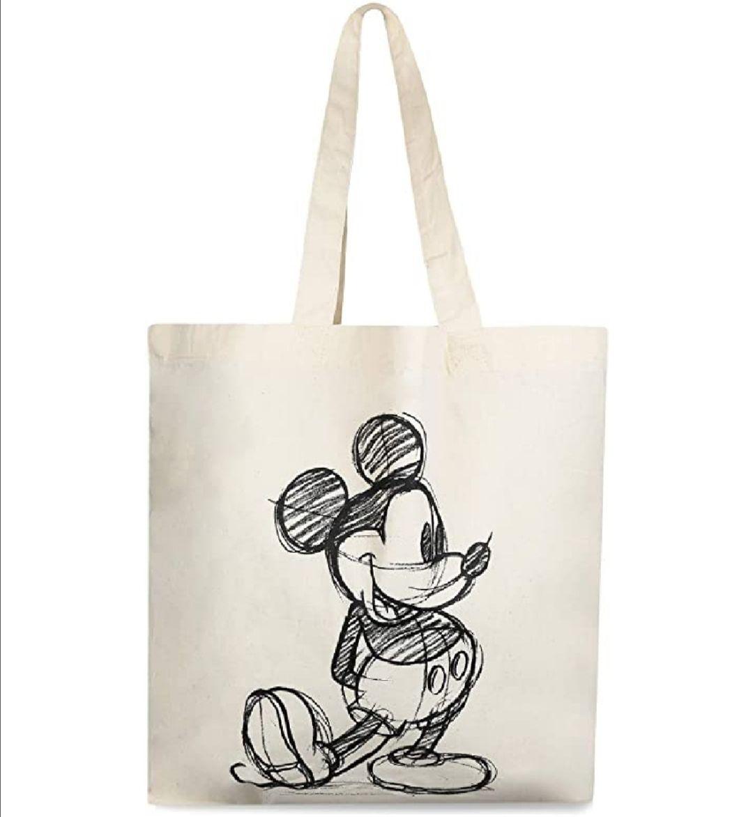 Disney Mickey Sketch. Bolsa lona y playa unisex