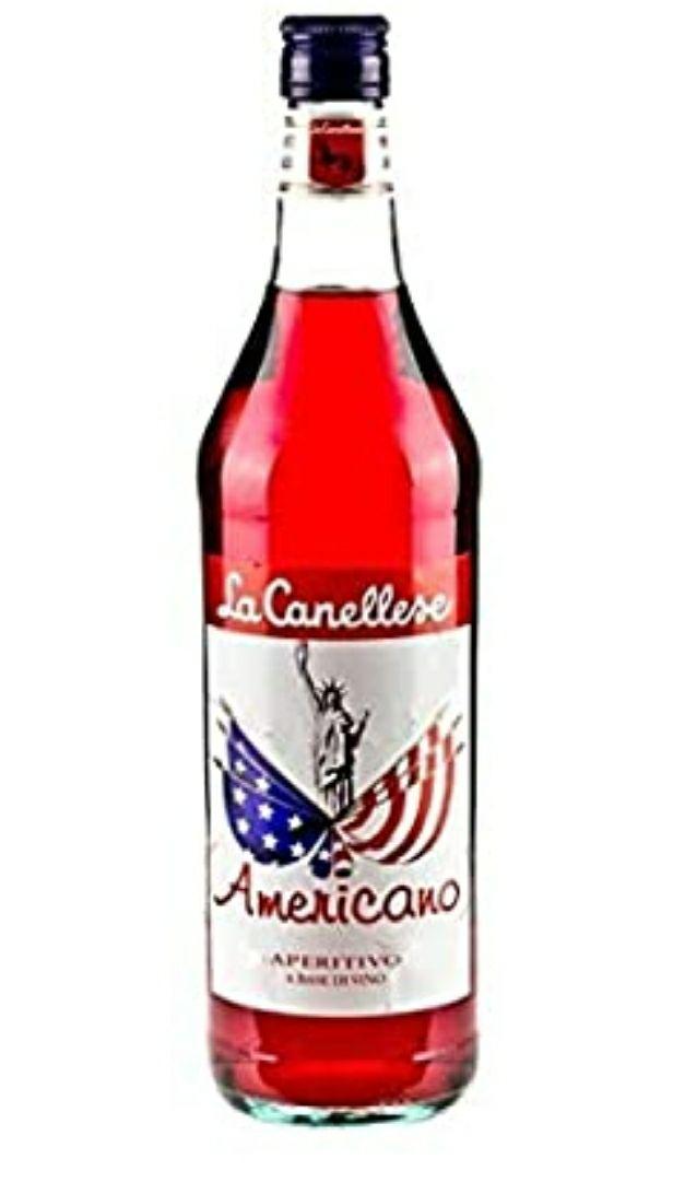 La canellese Americano Vermouth - 6 Botellas x 1000 ml - Total: 6000 ml