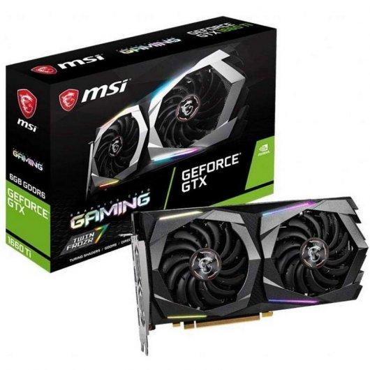 MSI GeForce GTX 1660Ti Gaming 6GB GDDR6