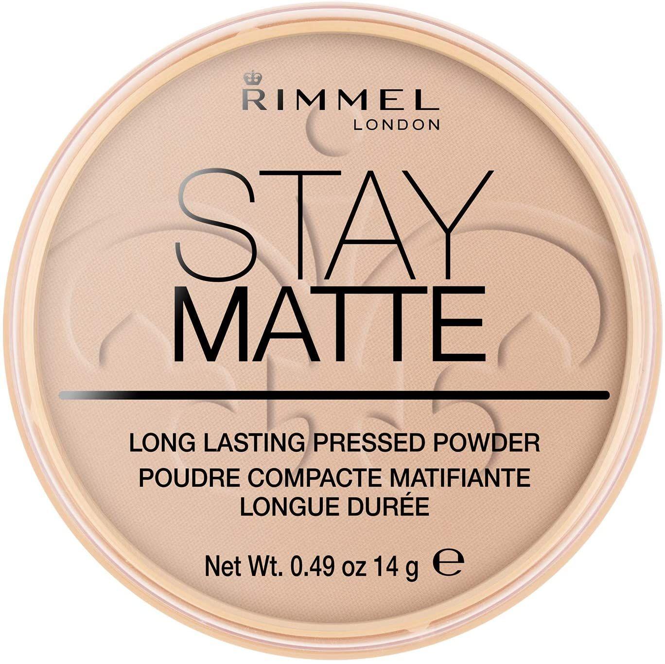 Rimmel London Stay Matte Powder Polvos de maquillaje Tono 5,6 y 8