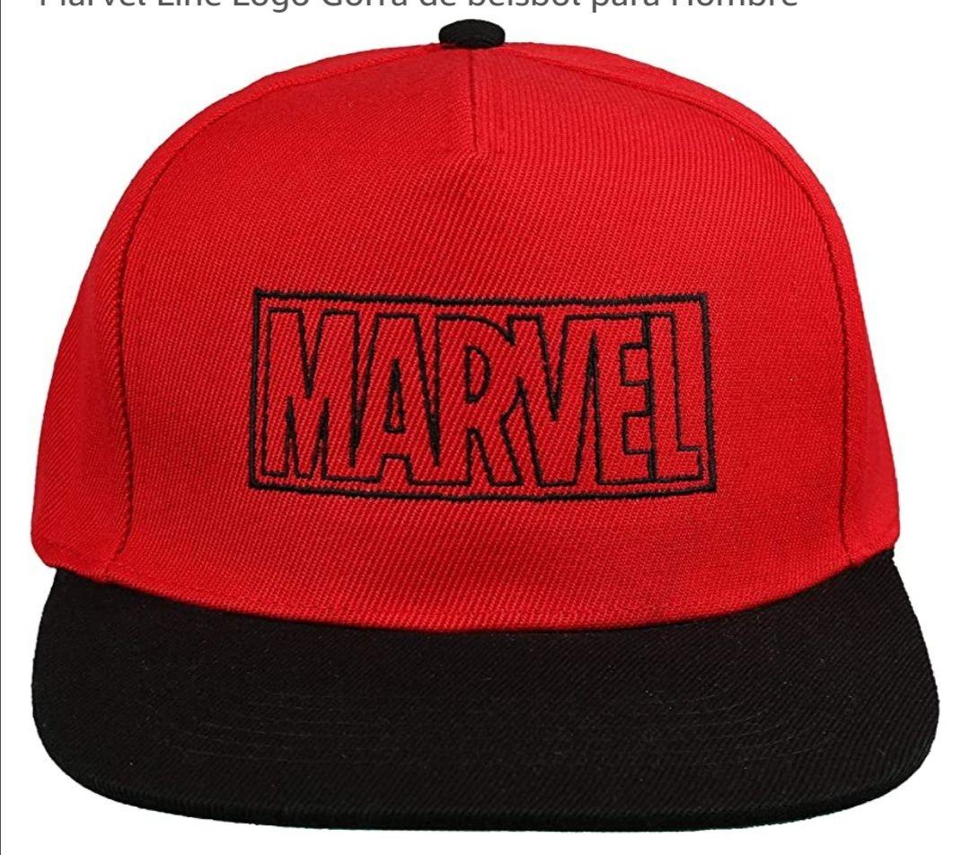 Marvel Line Logo Gorra de béisbol para Hombre