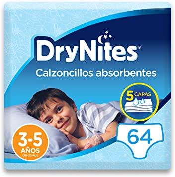 64 unidades DryNites 3-5 años [Al Tramitar]