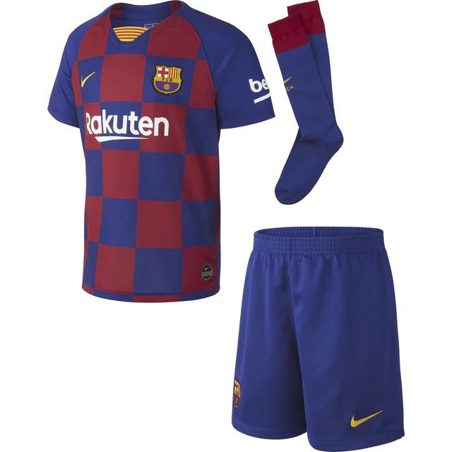 Conjunto de niños 1ª equipación FC Barcelona 2019-2020 Breathe Nike