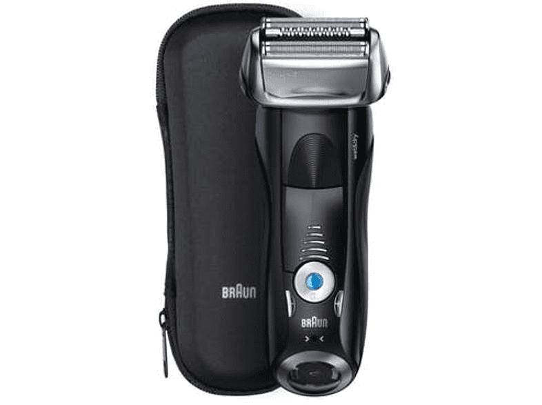 Afeitadora - Braun Series 7 7840s, Wet&Dry, 5Velocidades, Recargable, Negro