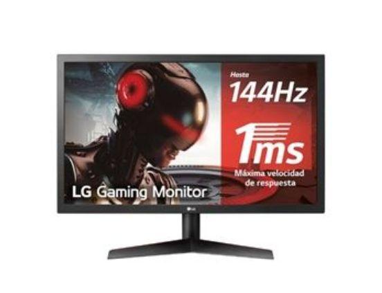 Monitor LG 24GL600F-B 24'' 144Hz Full HD + 7€ en saldo para socios