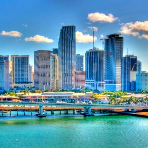 Vuelo de Madrid a Miami por 240€ ida y vuelta