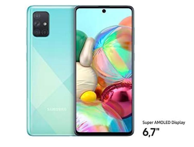 Samsung Galaxy a71 AZUL a buen precio