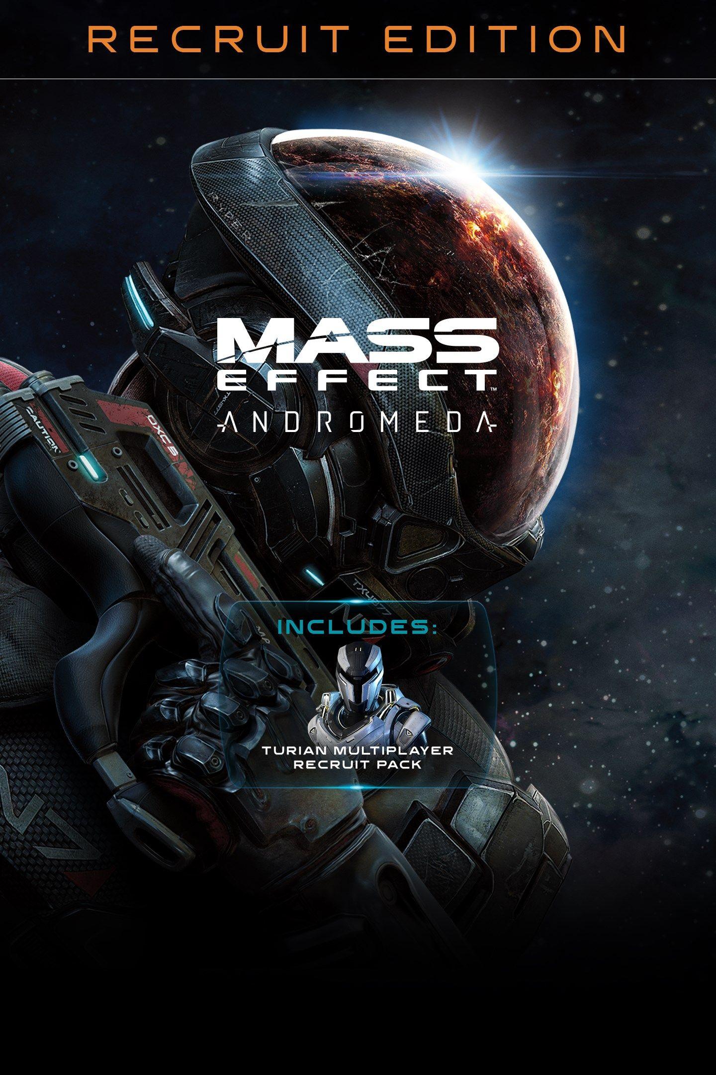 Edición Recluta Mass Effect Andrómeda PS4