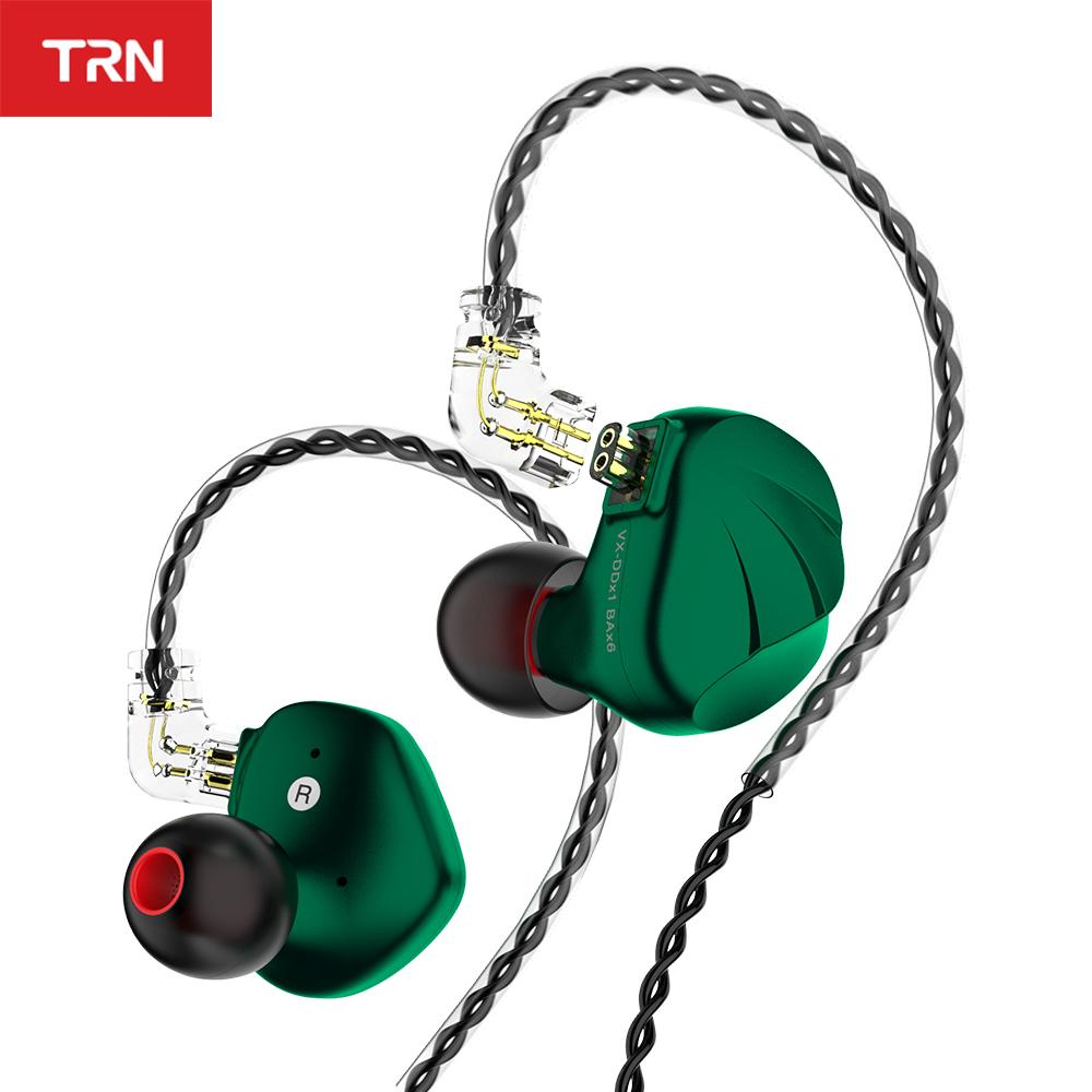 Nuevos Auriculares hibridos TRN VX - Con cable TRN T4 gratis