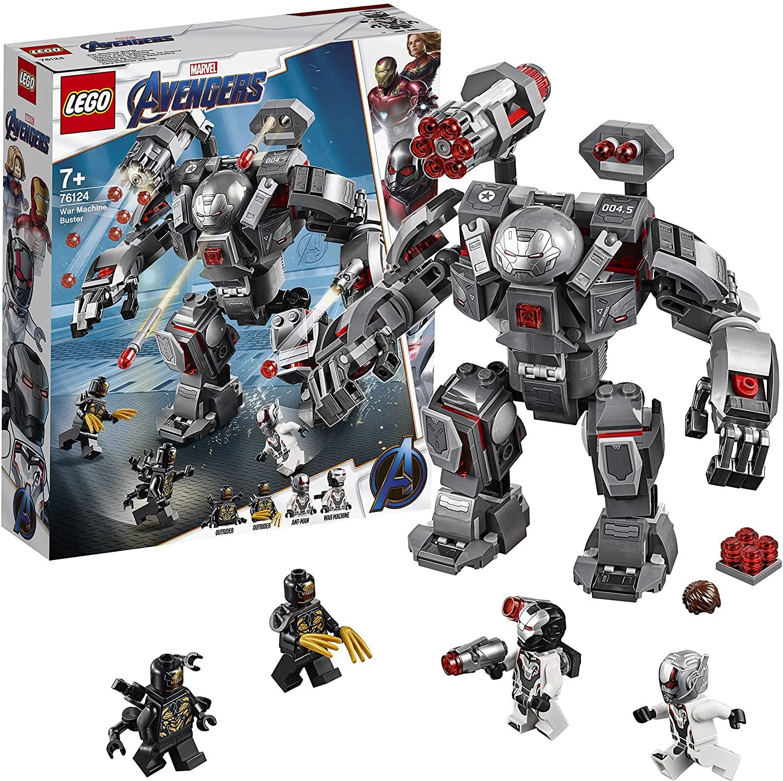 LEGO Super Heroes - Depredador de Máquina de Guerra, Robot de Juguete para recrear las Aventuras de los Vengadores