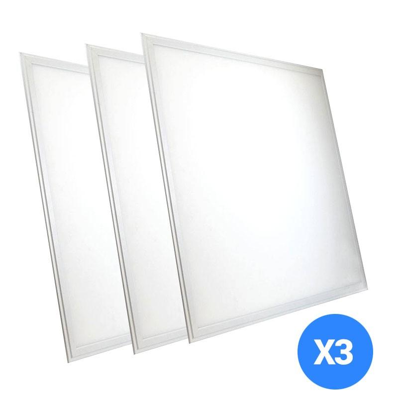 3X Paneles LED 60X60cm 42W (41.75€ primer pedido)