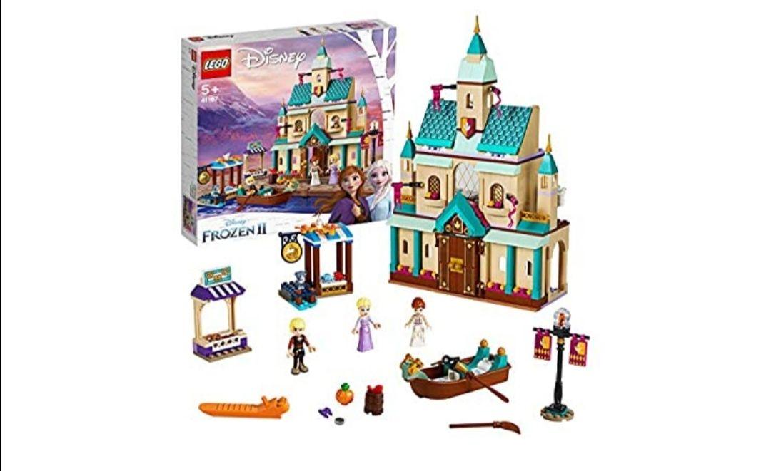 LEGO Disney Princess - Aldea del Castillo de Arendelle, Set de construcción Castillo de la Princesa Elsa, Incluye Minifiguras de Kristoff