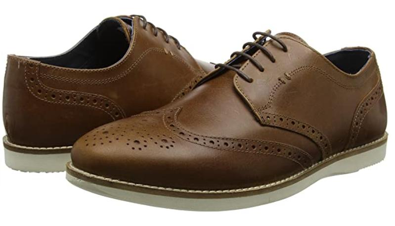 TALLA 42 - Red Tape Tirley, Zapatos de Cordones Derby para Hombre