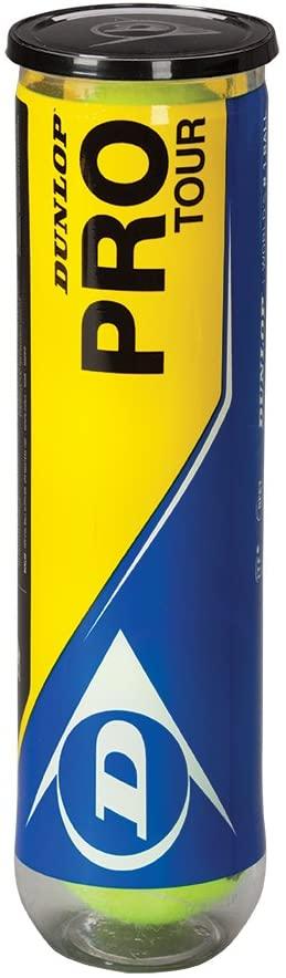 Dunlop Pro Tour - 4 Pelota de Tenis