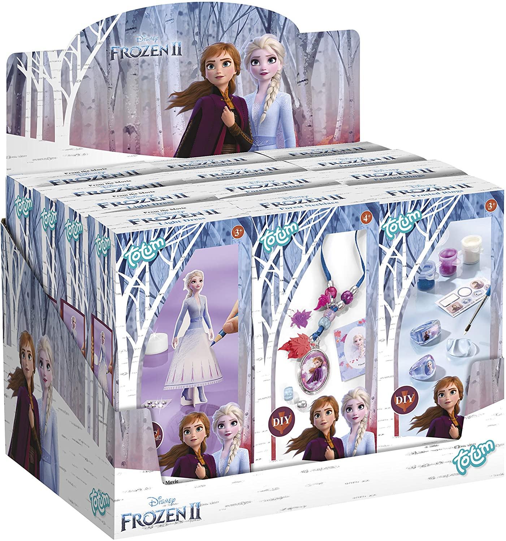Totum - Kit Creativo de Frozen con Diamantes de imitación - Pack de 12 Unidades