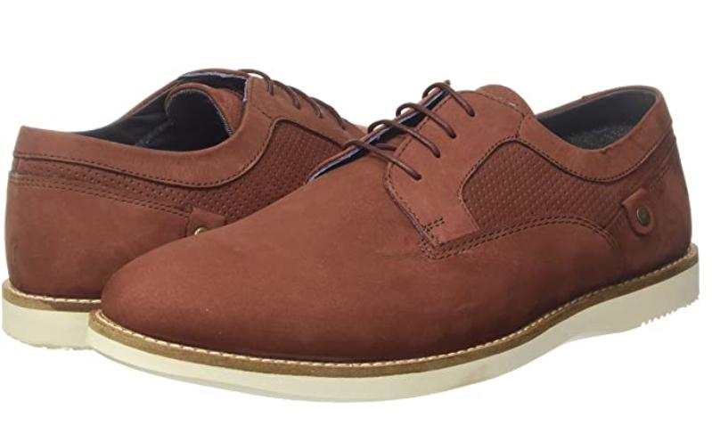 TALLA 42 - Red Tape Holker, Zapatos de Cordones Derby para Hombre