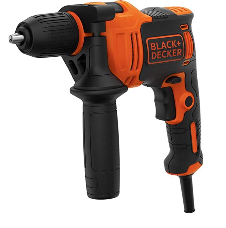 Taladro Percutor Black & Decker BEH710K-QS 710W