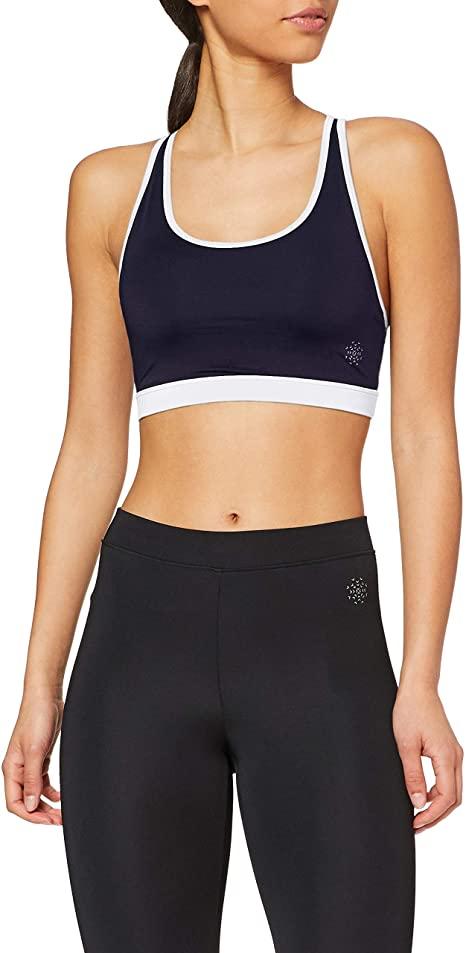 Marca Amazon - AURIQUE Sujetador Deportivo Mujer todas las tallas.