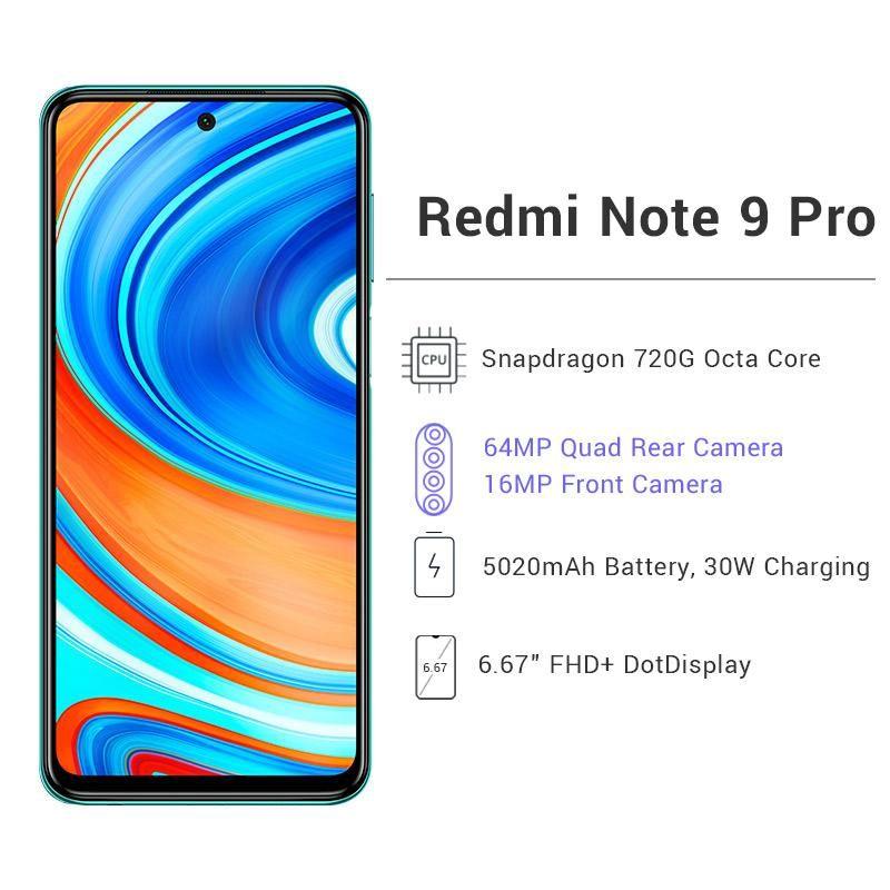 Xiaomi Redmi Note 9 PRO 6GB 128GB