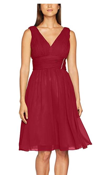 TALLA 38 - Astrapahl Vestido de Noche para Mujer