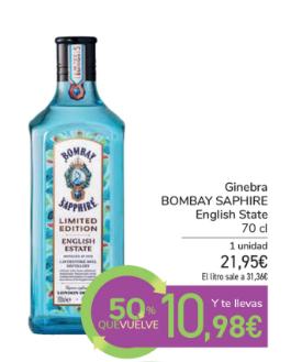 Carrefour Ginebra Mitad de precio
