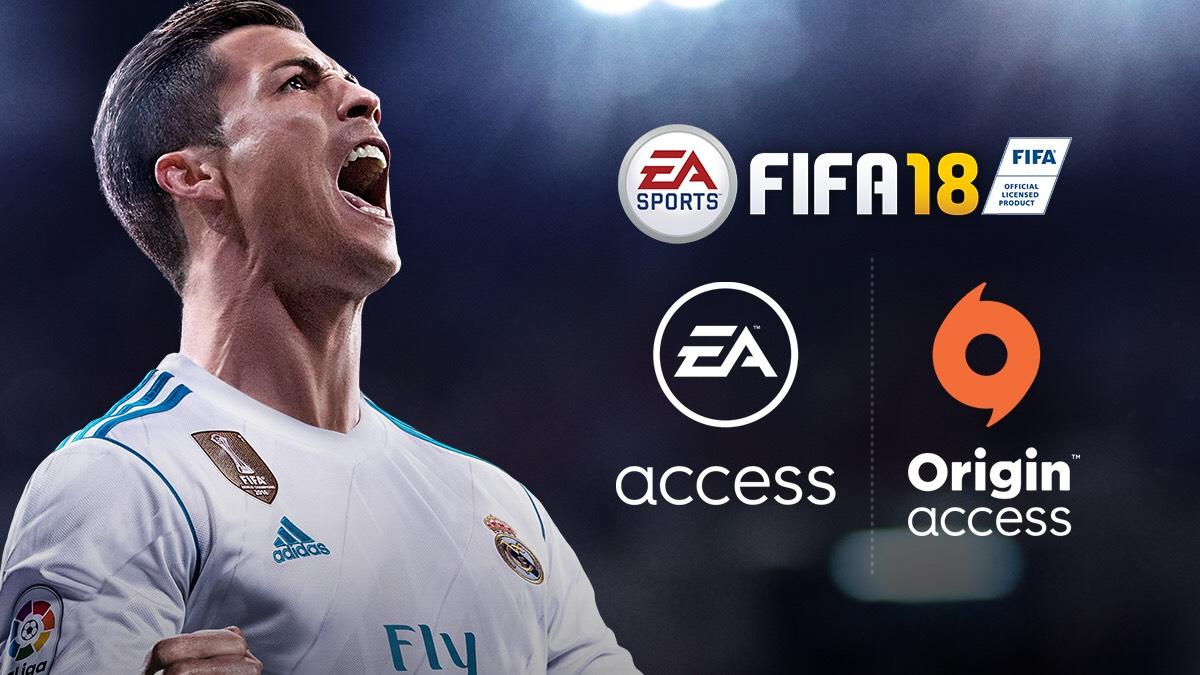 FIFA 18 Origin PC