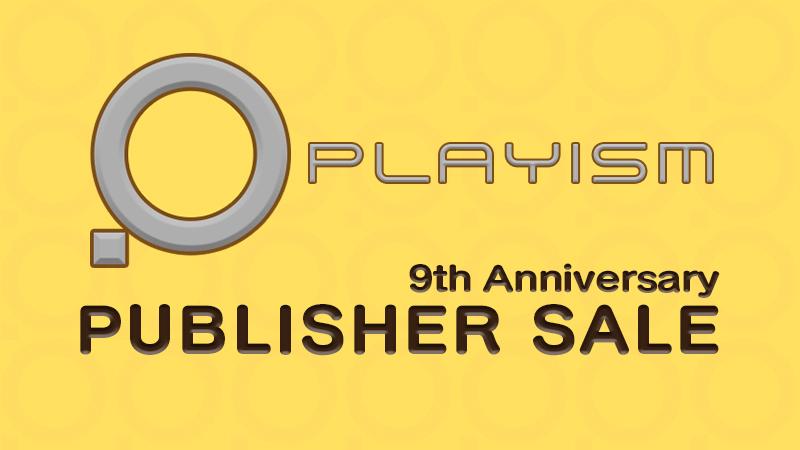 Ofertas 9º aniversario Playism en Steam (Juegos PC japoneses)
