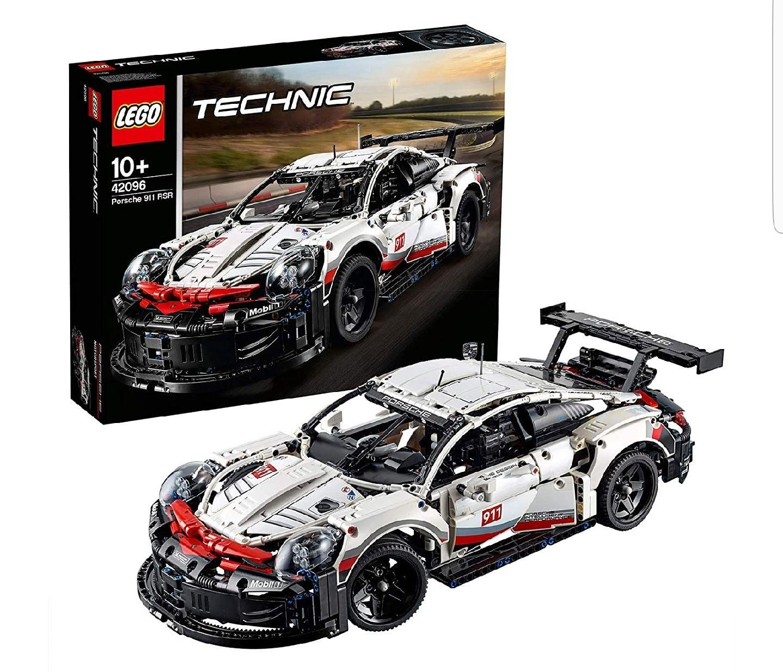 LEGO Technic - Porsche 911 RSR, maqueta de juguete