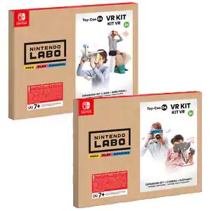 Nintendo Switch :: Kit LABO VR 1 o 2 (AlCampo)